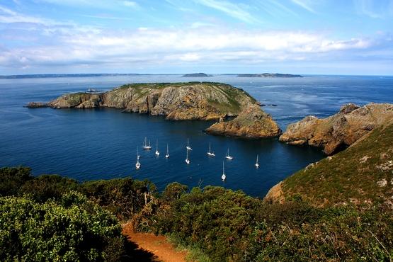 L'île de Brecqhou vue de Sercq