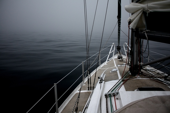 Brouillard au Nord de Bréhat