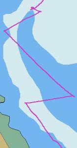 chalut-slalom