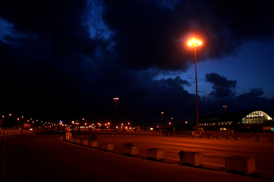 Cherbourg de nuit