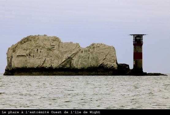 Pointe Ouest de l'île de Wight