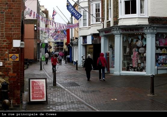 Rue principale de Cowes