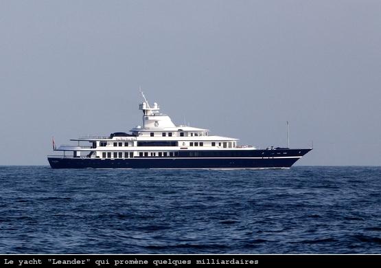 Un Yacht de Luxe sur le rail