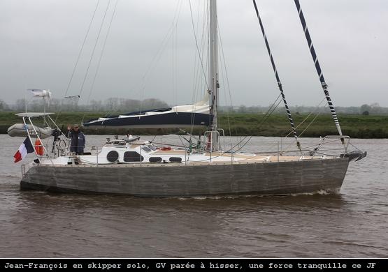 Aqua-Vitae dans le canal de Carentan
