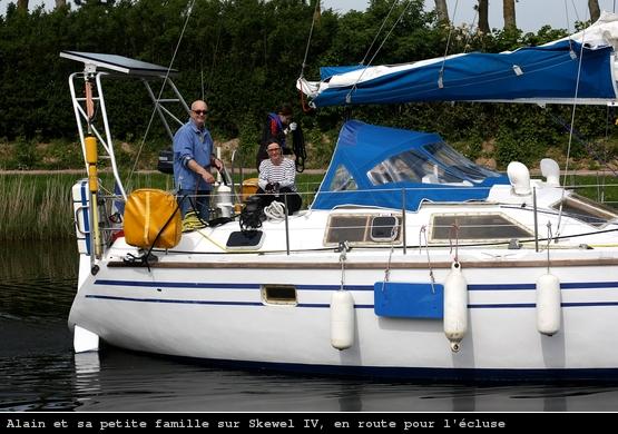 Skewel IV, Alain et sa famille