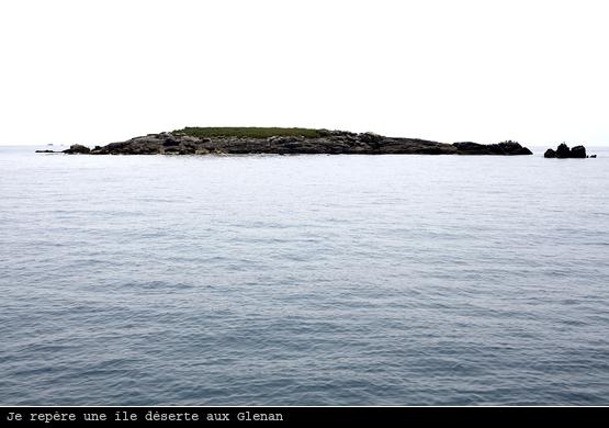 Une île déserte aux Glenan ?