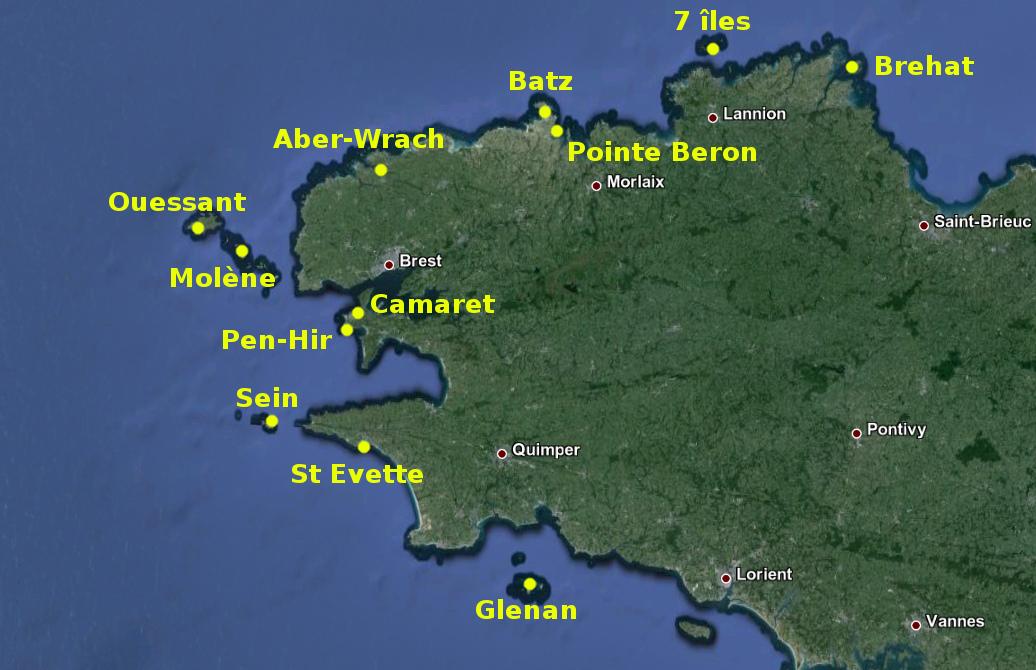 Bretagne Nord & Finistère