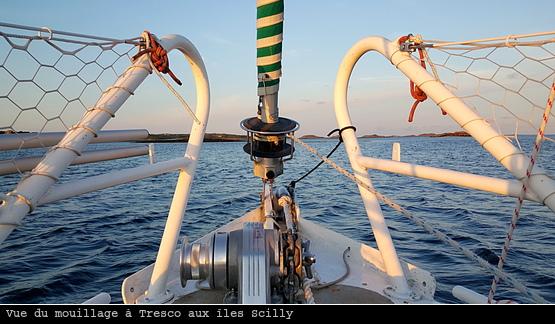 Tresco du bateau aux Scilly